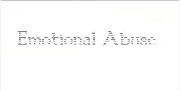 domestic emotional abuse signs